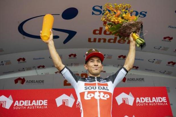 Tour des Emirats: Caleb Ewan fait coup double dans la deuxième étape