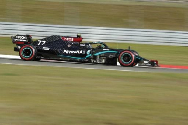 Bottas en pole au Nürburgring devant Hamilton