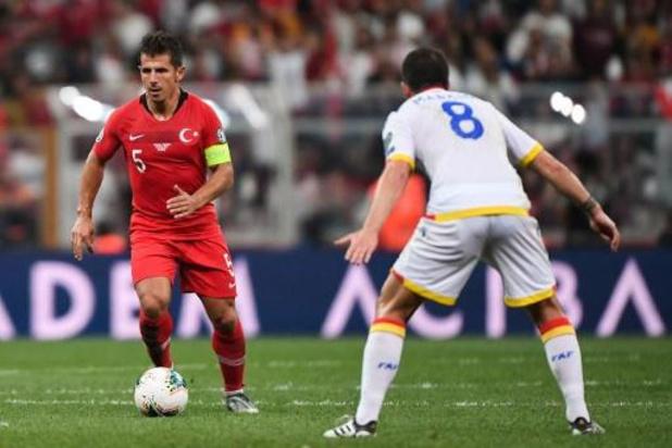 Emre Belözoglu, icône du football turc, va prendre sa retraite