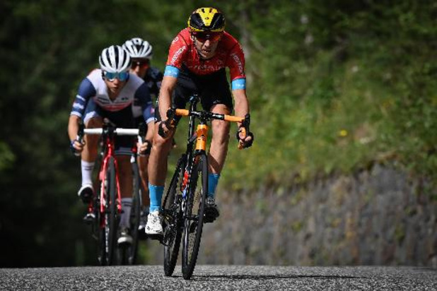 Tour de France - Hitte speelde Dylan Teuns parten