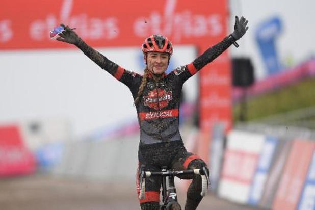 Victoire à Hulst pour Denise Betsema, classement final pour Lucinda Brand