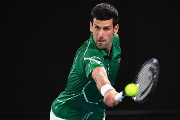Novak Djokovic s'impose contre Roger Federer et visera un huitième sacre à l'Open d'Australie