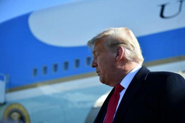 """Trump juge """"tout à fait convenable"""" son discours précédant l'assaut du Capitole"""