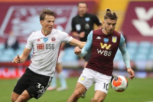 Premier League - Aston Villa et Sheffield United se quittent sur un nul vierge pour la reprise