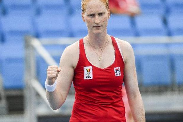 Alison Van Uytvanck stijgt na titel in Kazachstan naar 55e plaats
