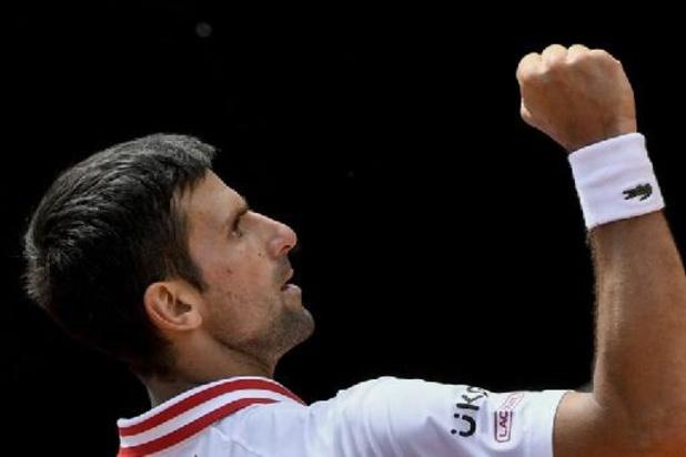 ATP Rome: Djokovic stoot door naar halve finales