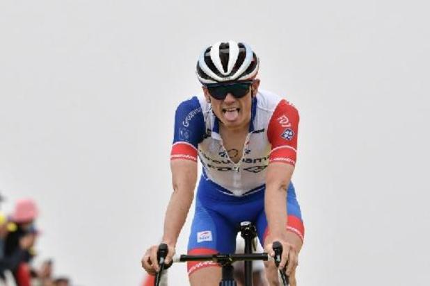 """Quatrième de l'étape derrière le super trio, le Français David Gaudu n'a """"pas de regrets"""""""