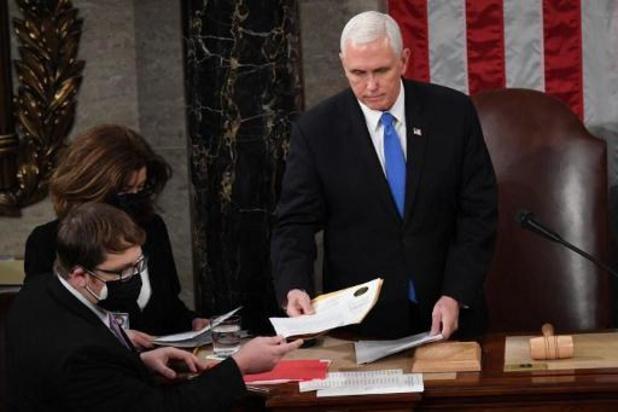 Présidentielle américaine 2020 - Le vice-président Pence ne s'opposera pas à la certification de la victoire de Biden