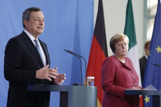 Euro 2020: Mario Draghi se dit opposé à la tenue de la finale à Londres à cause du variant Delta
