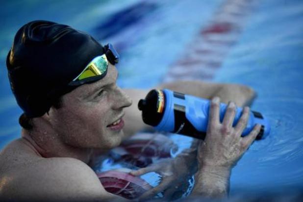Louis Croenen zwemt Belgisch record op de 100m vlinderslag
