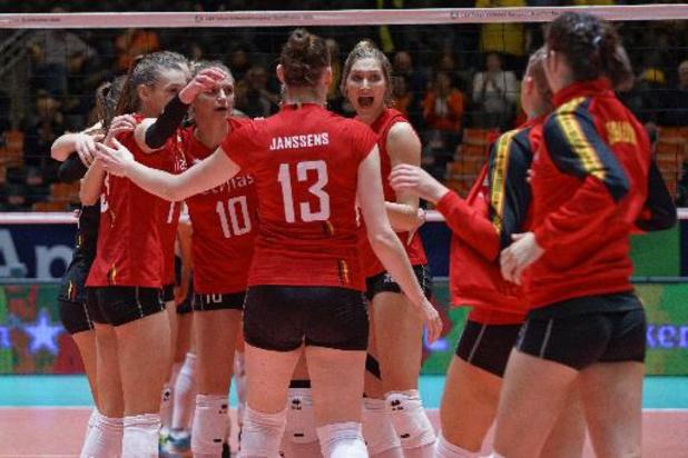 Ligue des nations de volley dames - La Belgique bat la Serbie toujours sur le score de 3-2
