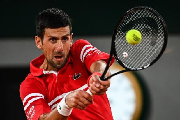 Roland Garros - Djokovic laatste halvefinalist in Parijs, clash met Nadal bij laatste vier