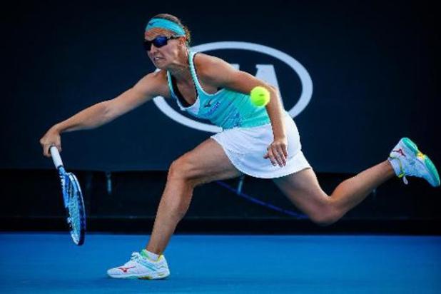 Open d'Australie - Kirsten Flipkens et sa coéquipière s'imposent au premier tour des doubles