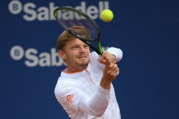 ATP Rome - David Goffin passe le premier tour pour son retour après son problème aux adducteurs