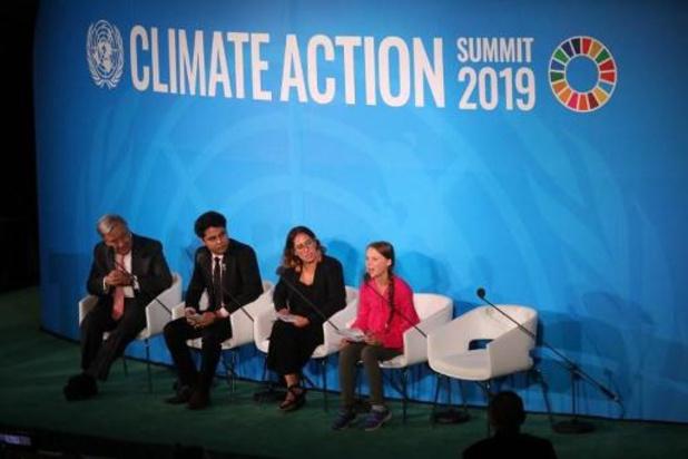 Le chef de l'Onu et Greta Thunberg sermonnent la planète