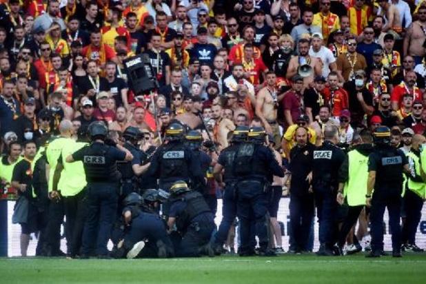 Ligue 1 - Incidents lors de Lens-Lille: six blessés légers et deux interpellations
