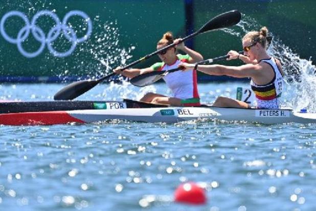 JO 2020 - Hermien Peters en course pour une médaille, Lize Broekx en finale C