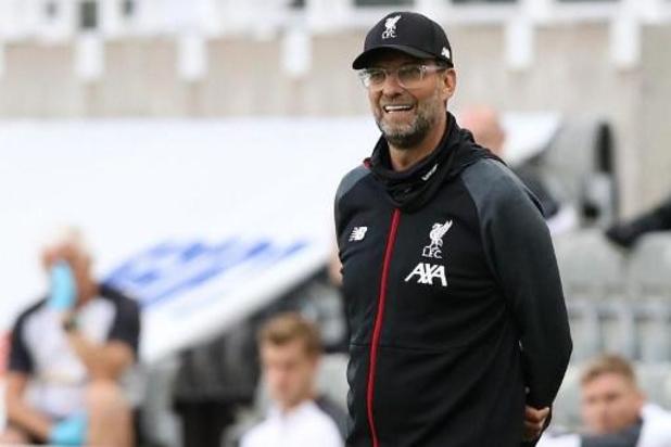 Jürgen Klopp (Liverpool) élu entraîneur de l'année par la Premier League