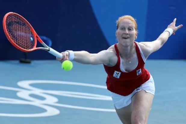 WTA Montreal - Alison Van Uytvanck neemt vlot eerste kwalificatiehorde