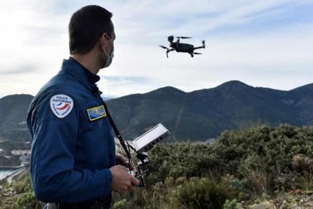 Franse autoriteiten in de fout met gebruik van drones tijdens lockdown