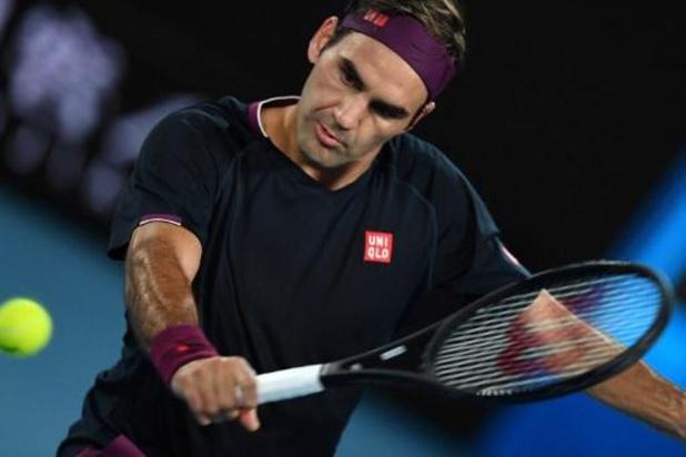 """Roger Federer plus """"Fedexpress"""" que jamais au 2e tour de l'Open d'Australie"""