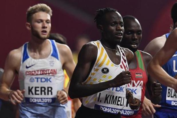 Mondiaux d'athlétisme - Isaac Kimeli qualifié pour les demi-finales du 1.500m, pas Ismaël Debjani