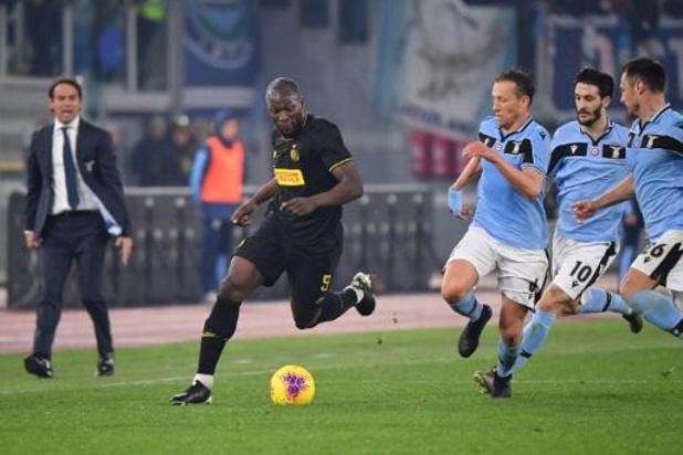 Belgen in het buitenland - Inter lijdt dure nederlaag bij Lazio