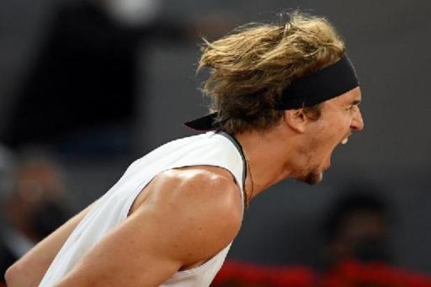 ATP Madrid - Zverev steekt toernooiwinst op zak na spetterende finale tegen Berrettini
