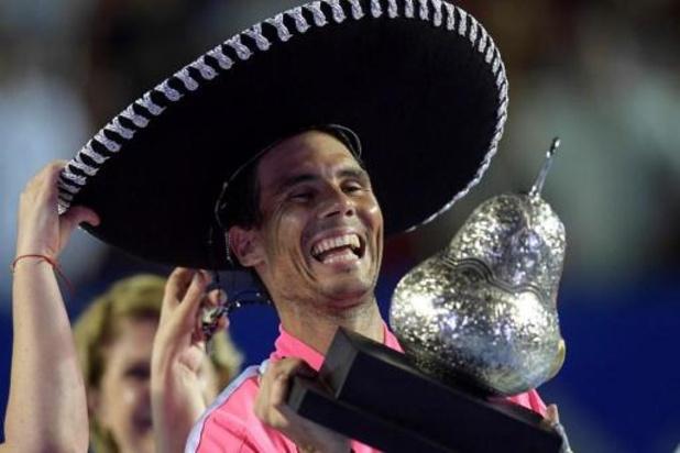 ATP Acapulco - Nadal réalise le coup du chapeau à Acapulco