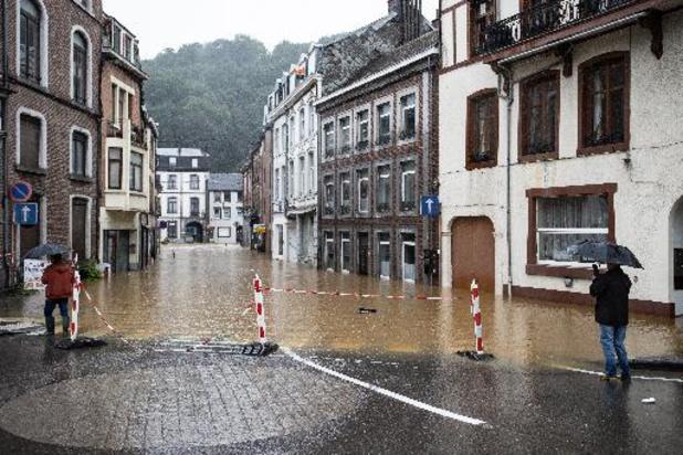 INTEMPERIES - Plusieurs routes inondées en région verviétoise
