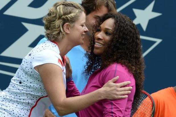 Kim Clijsters est une source d'inspiration pour Serena Williams