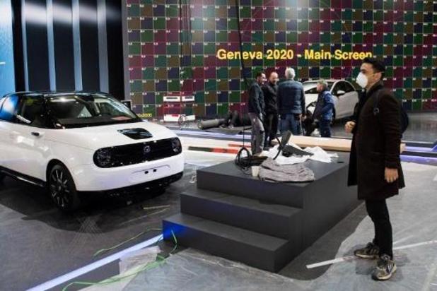 Organisatoren reageren op annulatie Autosalon van Genève
