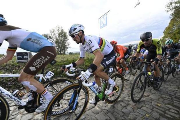 Julian Alaphilippe avec Deceuninck-Quick Step pour l'ouverture de la saison cycliste belge
