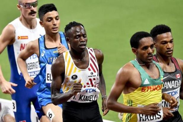 Mondiaux d'athlétisme - Isaac Kimeli 14e sur 5.000m où l'Ethiopien Muktar Edris conserve son titre