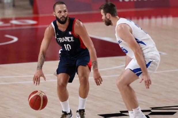 La France qualifiée pour les quarts du tournoi de basket après sa victoire sur la Tchéquie