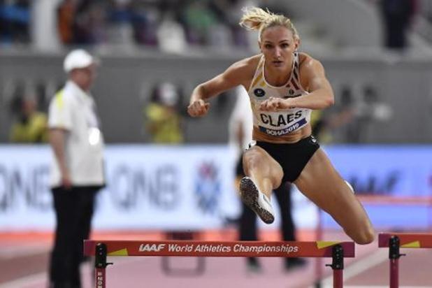 Hanne Claes bereikt halve finales 400m horden op WK