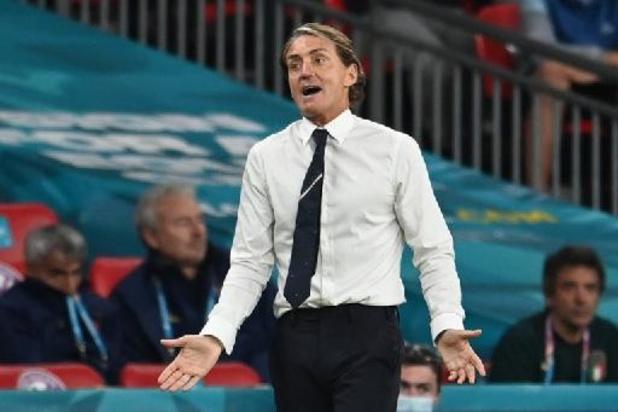 "Euro 2020 - Roberto Mancini ne tombe pas dans l'euphorie: ""Ce n'est pas fini"""