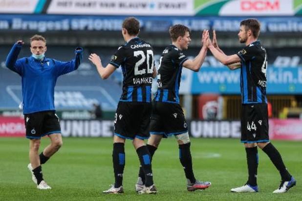 Bruges peut fêter son titre à Anderlecht, Malines peut valider son ticket européen