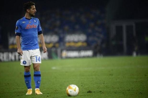 Dries Mertens de retour dans la sélection de Naples jeudi, selon son entraîneur Gattuso