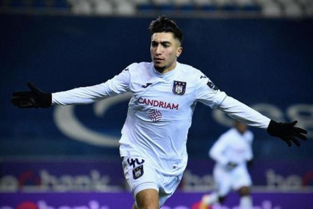 Jupiler Pro League - Anderlecht s'impose 1-2 à Genk et intègre le top 4