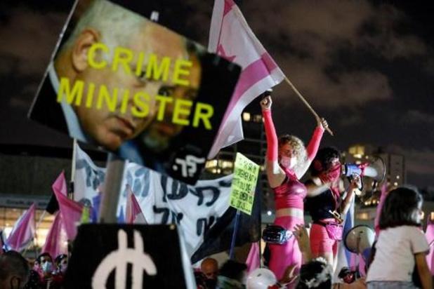 Opnieuw betogingen tegen Netanyahu in Israël