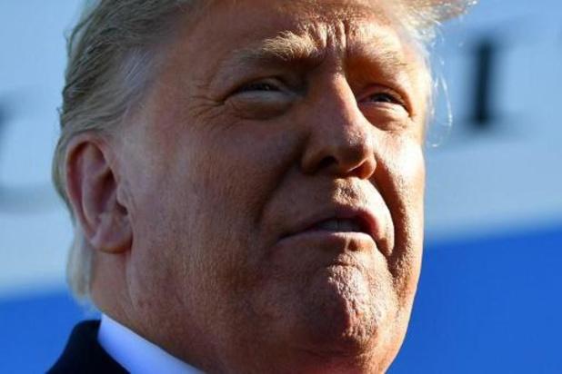"""Trump: """"Geen geweld bij inauguratie Biden"""""""