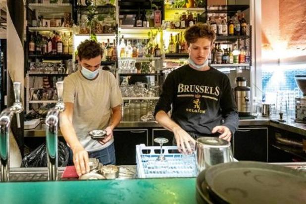 """Les cafés bruxellois paient le """"prix de l'échec de la lutte contre le coronavirus"""""""