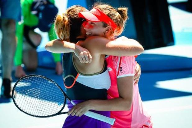 "Aryna Sabalenka, en finale du double avec Mertens: ""Elise est toujours tellement cool"""