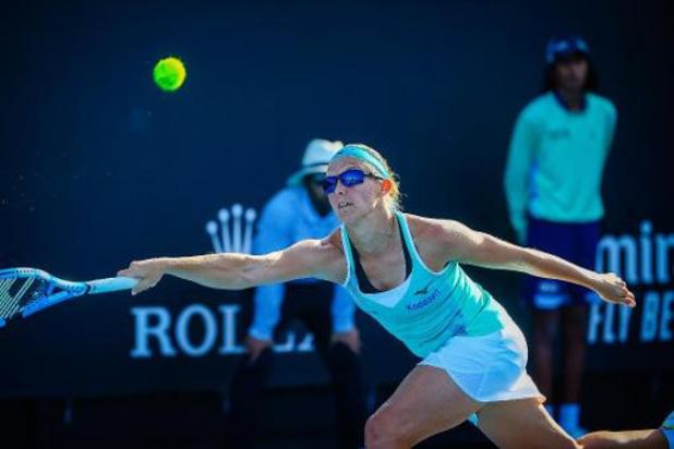 Australian Open - Flipkens plaatst zich voor tweede ronde dubbelspel
