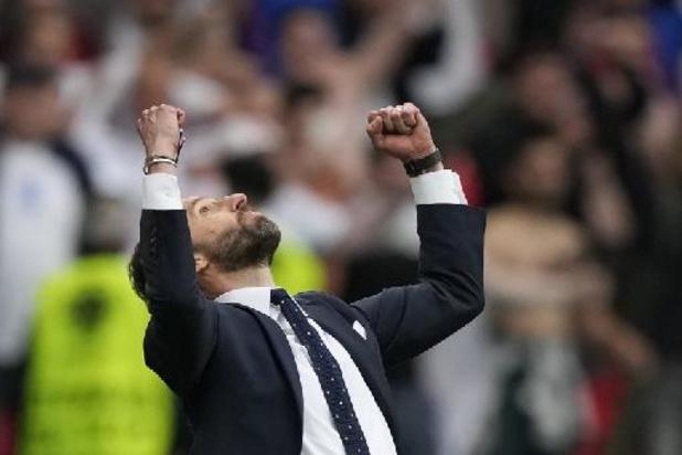 """Euro 2020 - """"On a joué avec notre tête"""", se réjouit Gareth Southgate"""