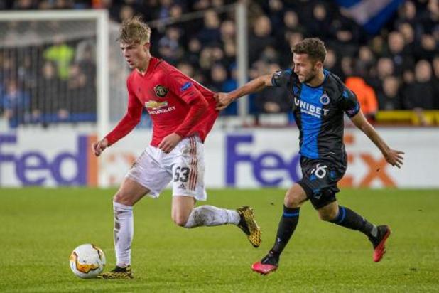 Europa League - Le Club Bruges accroche Manchester United à domicile et peut encore y croire