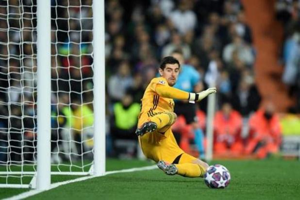Thibaut Courtois (Real Madrid) sukkelt met adductoren