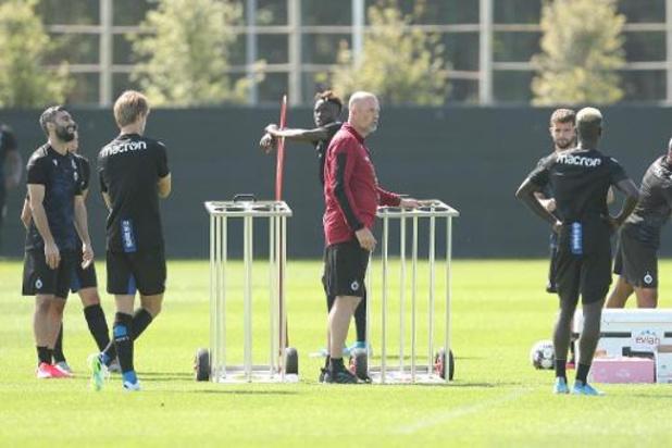 Club Brugge houdt eerste veldtraining van het nieuwe seizoen