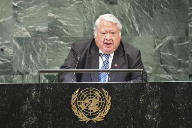 """""""Désigné par Dieu"""", le dirigeant des Samoa refuse le résultat des élections"""